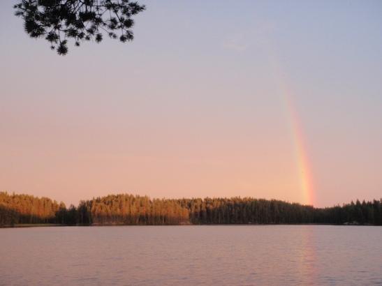 Löytyykö sateenkaaren päästä kiipeilyaarre?