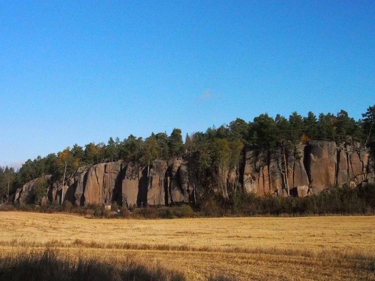 Hopiavuori, in all it's mighty. Kustavissa käydessä tulee usein sellainen olo, ettei Suomesta tarvitsisi niin usein ulkomailel kiipeilemään lähteä.
